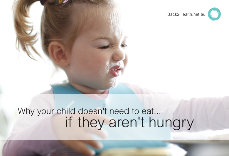 Why Your Child Doesn't Need To Eat If They Aren't Hungry