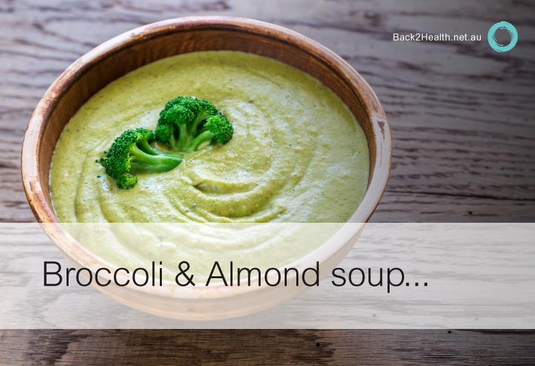 Broccoli & Almond Soup